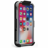 Apple iPhone X PureGear DualTek Case with Hip Clip Holster - Matte Black