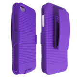 Apple iPhone 4/4s Holster Shield Combo - Purple