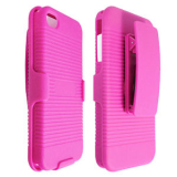 Apple iPhone 4/4s Holster Shield Combo - Hot Pink