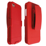 Apple iPhone 4/4s Holster Shield Combo - Red