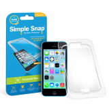 Apple iPhone 5C Simple Snap Screen Protector - Tempered Glass