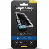 Apple iPhone 5/5s5/SE Simple Snap Stealth Screen Protector - Privacy Tempered Glass