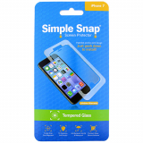 Apple iPhone 7 Simple Snap Screen Protector - Tempered Glass