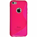 Apple iPhone 5C Cutout TPU Shield - Pink