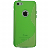 Apple iPhone 5C Cutout TPU Shield - Green