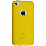 Apple iPhone 5C Cutout TPU Shield - Yellow