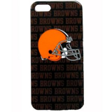Apple iPhone 5/5s/SE Officially Licensed NFL Shield - Cleveland Browns