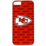 Apple iPhone 5/5s/SE Officially Licensed NFL Shield - Kansas City Chiefs