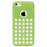 Apple iPhone 5c Spotz TPU Shield - Lime Green