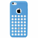 Apple iPhone 5c Spotz TPU Shield - Blue