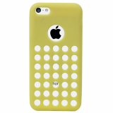Apple iPhone 5c Spotz TPU Shield - Yellow