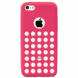 Apple iPhone 5c Spotz TPU Shield - Pink