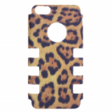 Apple iPhone 5c Rocker Series Snap - Black/Tan Cheeta
