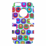 Apple iPhone 5c Rocker Series Snap - White/Multi-Colored Boxes