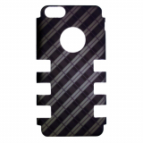 Apple iPhone 5c Rocker Series Snap - Black/Brown Plaid