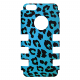 Apple iPhone 5c Rocker Series Snap - Turquoise Leopard