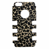 Apple iPhone 5c Rocker Series Snap - Tan Baby Cheeta