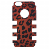 Apple iPhone 5c Rocker Series Snap - Red Leopard