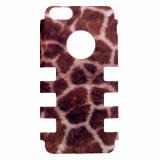 Apple iPhone 5c Rocker Series Snap - Tan/Brown Giraffe