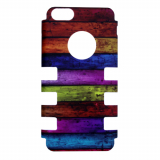 Apple iPhone 5c Rocker Series Snap - Multi-Colored Wood Planks