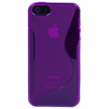 Apple iPhone 5/5s/SE TPU Shield - Purple