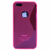 Apple iPhone 5/5s/SE TPU Shield - Hot Pink