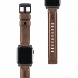Apple Watch Band 44/42 Urban Armor Gear (UAG) Leather Series - Brown