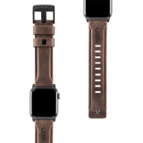 Apple Watch Band 40/38 Urban Armor Gear Leather Series - Brown