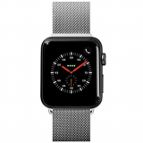 Apple Watch Band 42/44 Laut Steel Loop Series - Silver