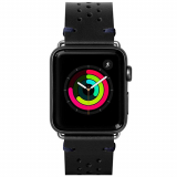 Apple Watch Band 42/44 Laut Heritage Series - Jet Black