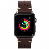 **NEW**Apple Watch Band 42/44 Laut Heritage Series - Burgundy
