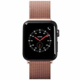 **NEW**Apple Watch Band 38/40 Laut Steel Loop Series - Rose Gold
