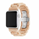 Apple Watch Band 42/44 Woodcessories EcoStrap Series - Maple/Silver