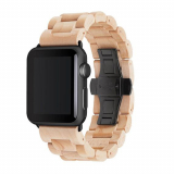Apple Watch Band 42/44 Woodcessories EcoStrap Series - Maple/Black