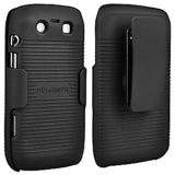 Blackberry Torch/9850 Holster Shield Combo - Black
