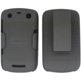 Blackberry Curve/9350/9370 Holster Shield Combo - Black