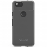 Google Pixel 2 PureGear Slim Shell Case - Clear/Clear