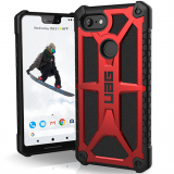 Google Pixel 3 XL Urban Armor Gear Monarch Case (UAG) - Crimson
