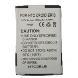 HTC Incredible/Droid Eris 1100mAhStandard Replacement Battery
