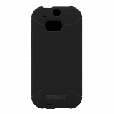 HTC One 2/M8 Trident Aegis Series Case - Black/Black