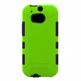 HTC One 2/M8 Trident Aegis Series Case - Green/Black