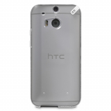 HTC One 2/M8 PureGear Slim Shell Case - Clear/White