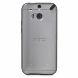 HTC One 2/M8 PureGear Slim Shell Case - Clear/Black