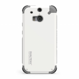 HTC One 2/M8 PureGear DualTek Case - White