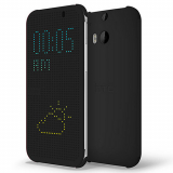HTC One 2/M8 OEM DOT View Case - Black