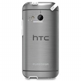 HTC One Mini 2 PureGear Slim Shell Case - Clear/White