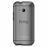 HTC One Mini 2 PureGear Slim Shell Case - Clear/Black