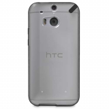 HTC ONE M9 PureGear Slim Shell Case - Clear/Black
