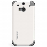 HTC ONE M9 PureGear DualTek Case - Arctic White