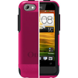 HTC One V Commuter Series OtterBox Case - Pink/Black